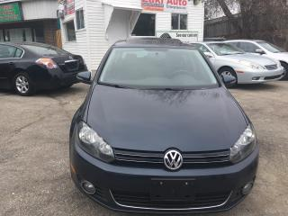 Used 2013 Volkswagen Golf Highline Navi .Leather Seats .Sunroof for sale in Scarborough, ON