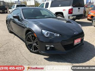 Used 2016 Subaru BRZ Sport-tech | NAV | ONE OWNER | HEATED SEATS for sale in London, ON