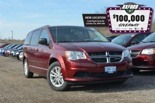 Used 2017 Dodge Grand Caravan SXT Plus - DVD, Bluetooth, Back up Cam for sale in London, ON