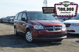Used 2017 Dodge Grand Caravan SXT - Rear Air, Bluetooth, Quad Captain Seats for sale in London, ON
