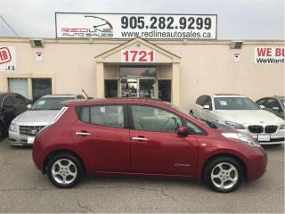 Used 2012 Nissan Leaf SV, Fully Electric, Navi, WE APPROVE ALL CREDIT for sale in Mississauga, ON