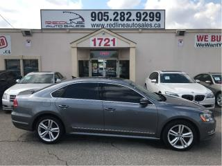 Used 2013 Volkswagen Passat 2.0 TDI Highline, Navi, WE APPROVE ALL CREDIT for sale in Mississauga, ON