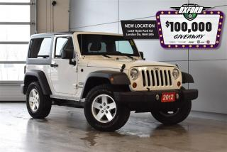 Used 2012 Jeep Wrangler Sport - 4x4, Cruise, Air, Bluetooth for sale in London, ON