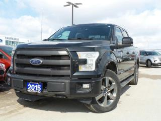 Used 2015 Ford F-150 *CPO* LARIAT EcoBoost 3.5L 2.9% APR FREE WARR... for sale in Midland, ON