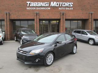 Used 2012 Ford Focus TITANIUM | ALLOYS | LEATHER | NAVIGATION for sale in Mississauga, ON
