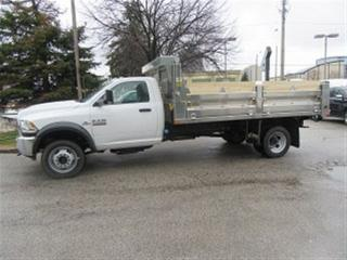 Used 2018 Dodge Ram 5500 REG CAB 4X4 DIESEL NEW  14 FT ALUM DUMP for sale in Richmond Hill, ON