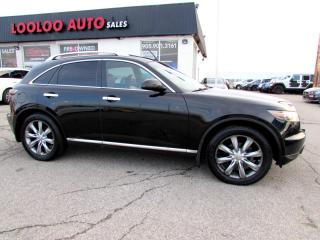 Used 2006 Infiniti FX FX45 AWD DVE NAVIGATION CAMERA CERTIFIED 2YR WARRANTY for sale in Milton, ON