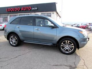 Used 2007 Acura MDX PREMIUM PKG 7 PASSENGER LEATHER CAMERA SUNROOF for sale in Milton, ON