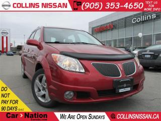 Used 2008 Pontiac Vibe ALLOYS | FOG LIGHTS | SUNROOF | LOW KM'S for sale in St Catharines, ON