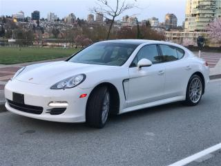 Used 2010 Porsche Panamera LOCAL,FULLY LOADED,INSPECTED BY PORSCHE LANGLEY for sale in Vancouver, BC