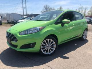 Used 2014 Ford Fiesta SE-NAV- MOON ROOF-ALLOYS-AUTO for sale in St Catharines, ON