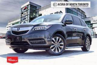 Used 2015 Acura MDX Tech at Accident Free| DVD| Navigaiton| Bluetooth for sale in Thornhill, ON