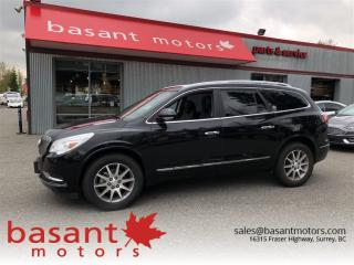 Used 2016 Buick Enclave 7 Passenger, Heated Seats, Panoramic Roof, BSM!! for sale in Surrey, BC