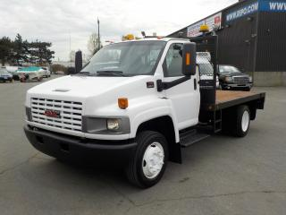 Used 2007 GMC 4500 C 11 Foot Dually Flat Deck for sale in Burnaby, BC