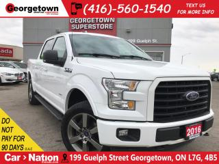 Used 2016 Ford F-150 XLT| 4X4| NAVI|PANO ROOF| BACK UP CAM|CREW CAB for sale in Georgetown, ON