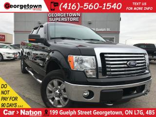 Used 2012 Ford F-150 XLT | 4X4 | CREW CAB| 61/2 BOX| CHROME WHEELS for sale in Georgetown, ON