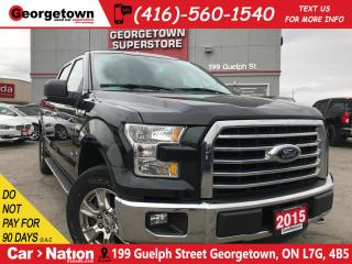 Used 2015 Ford F-150 XLT XTR CREW| 4X4| NAV| BACKUP CAM |CHROME PACKAGE for sale in Georgetown, ON