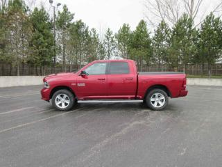 Used 2015 RAM 1500 SPORT CREW 4X4 for sale in Cayuga, ON