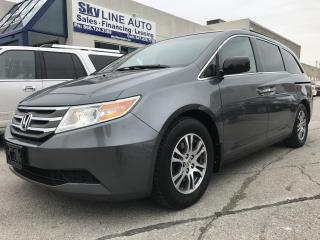 Used 2011 Honda Odyssey EX 8 PASSENGER|CAMERA|POWER SLIDING DOORS|HEATED SEATS for sale in Concord, ON