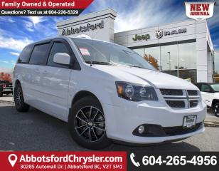 Used 2017 Dodge Grand Caravan GT *ACCIDENT FREE* *LOCALLY DRIVEN* for sale in Abbotsford, BC