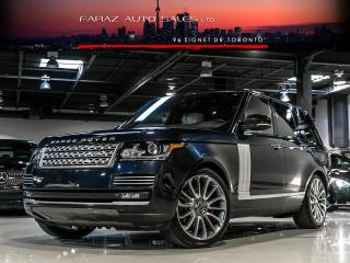 Used 2014 Land Rover Range Rover AUTOBIOGRAPHY|TV/DVD|MASSAGE|B.SPOT|ADP CRUISE|LOADED for sale in North York, ON
