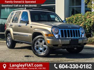 Used 2006 Jeep Liberty Limited NO ACCIDENTS, B.C OWNED for sale in Surrey, BC