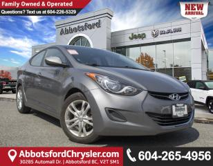 Used 2013 Hyundai Elantra GL *LOCALLY DRIVEN* for sale in Abbotsford, BC