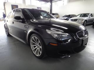 Used 2008 BMW M5 507HP ROCKET,LOADED EVERY OPTION,ZERO ACCIDENTS for sale in North York, ON