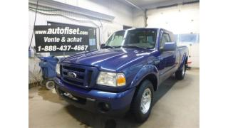 Used 2010 Ford Ranger Sport $ $ 52. /SEM+TX  ANTI-PATINAGE IMPECCABLE for sale in St-Raymond, QC
