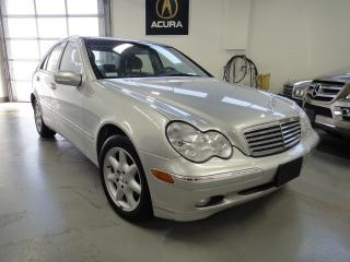 Used 2003 Mercedes-Benz C-Class 4 MATIC,LOW KM,NO ACCIDENT,VERY CLEAN for sale in North York, ON