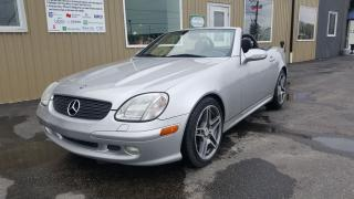 Used 2001 Mercedes-Benz SLK 320-3.2L-NO TAX SALE 1 WEEK-HARD TOP CONVERTIBLE for sale in Tilbury, ON