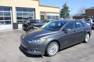 Used 2016 Ford Fusion SE Hybrid for sale in Brampton, ON