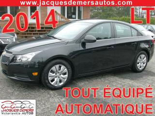 Used 2014 Chevrolet Cruze LT for sale in Victoriaville, QC