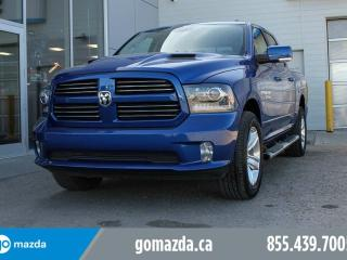 Used 2016 RAM 1500 SPORT FULL LOAD TONNEAU COVER STEPS for sale in Edmonton, AB