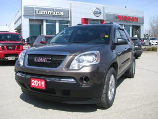 Used 2011 GMC Acadia SLE1 for sale in Timmins, ON