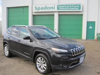 Used 2016 Jeep Cherokee Limited for sale in Thunder Bay, ON