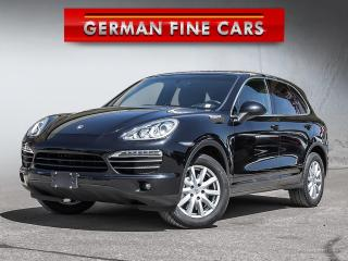 Used 2012 Porsche Cayenne S V8 4.8L* NAVIGATION, AWD, SUNROOF* for sale in Caledon, ON