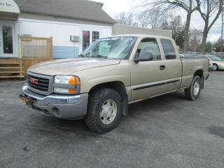 Used 2004 GMC Sierra 1500 SL for sale in Scarborough, ON