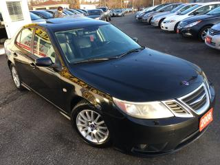 Used 2008 Saab 9-3 AUTO/LEATHER/SUNROOF/ALLOYS/TURBO/CLEAN!!! for sale in Scarborough, ON
