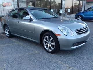 Used 2006 Infiniti G35X 2006 INFINITI G35X - all wheel drive - back up cam for sale in Scarborough, ON