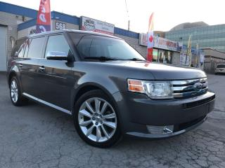 Used 2010 Ford Flex Limited w/ Navi_Backup Cam_Daul DVD_Sunroof for sale in Oakville, ON