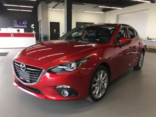 Used 2014 Mazda 3 GT * LEATHER * NAV * REAR CAM * SUNROOF for sale in London, ON