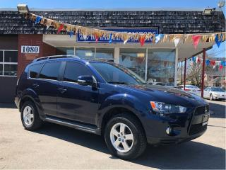 Used 2010 Mitsubishi Outlander XLS,PushStart,V6,HtdSeat,4WD,Alloy,Bluetooth,7Pass for sale in York, ON