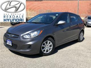 Used 2013 Hyundai Accent GL, AUTO, AC, PWLM for sale in Etobicoke, ON