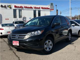 Used 2014 Honda CR-V LX AWD - Rear Camera - Heated Seats - NEW TIRES for sale in Mississauga, ON