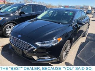 Used 2017 Ford Fusion SE-AWD-Leather-Roof-Nav for sale in Etobicoke, ON
