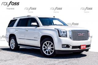 Used 2015 GMC Yukon Denali 8 Pass Nav Dvd Tow Pkg for sale in Thornhill, ON