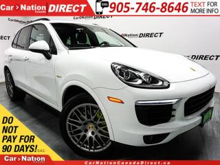 Used 2016 Porsche Cayenne S| PLUG-IN HYBRID| PANO ROOF| NAVI| for sale in Burlington, ON