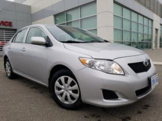 Used 2009 Toyota Corolla Base 4-Speed, manual transmission for sale in Hornby, ON