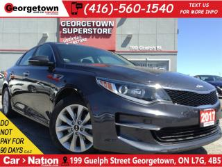 Used 2017 Kia Optima LX+ | BACK UP CAM | HEATED SEATS AND WHEEL | for sale in Georgetown, ON